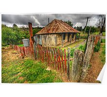 Beyers Cottage - Hill End, NSW - The HDR Experience Poster