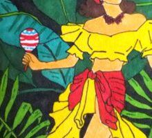 La Selva Caliente.  Sticker