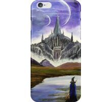 Mountain Castle Moons iPhone Case/Skin