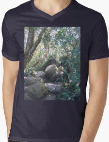 Obstacle Road Mens V-Neck T-Shirt