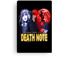 Death Noire Canvas Print