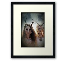 Yaz and Immi Framed Print