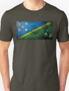 Solomon Islands Grunge Unisex T-Shirt