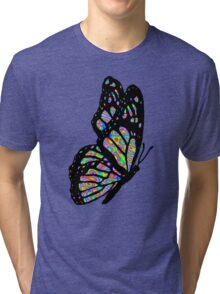 Psychedelic Butterfly Tri-blend T-Shirt