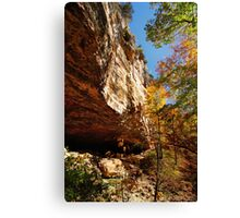 Cleft of the Rock Canvas Print