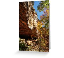Cleft of the Rock Greeting Card