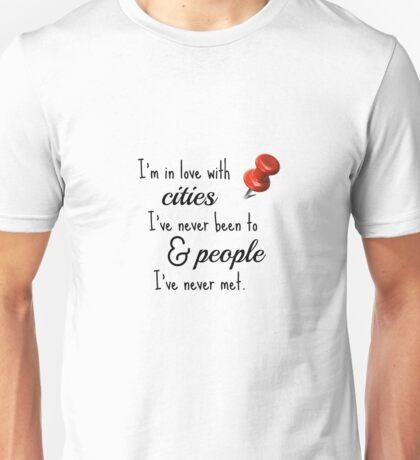 Paper Towns cities and people quote Unisex T-Shirt