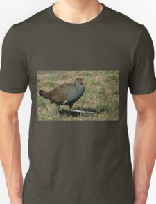 Ministry of Funny Walks (Tasmanian Native Hen) Unisex T-Shirt