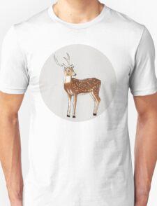 Nursery art - Deer that turns wishes Unisex T-Shirt
