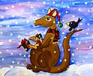 Christmas Roos by Kayleigh Walmsley