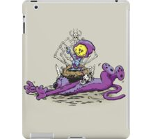 Furry Flea Bitten Fool iPad Case/Skin