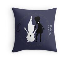 Sophie and Agatha Throw Pillow