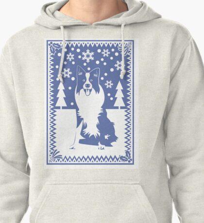 Border Collie Pullover Hoodie