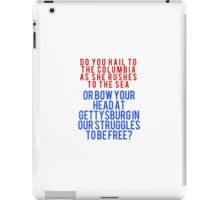John Wayne Quote iPad Case/Skin