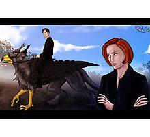 Mulder, no! Photographic Print
