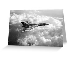 Final Sortie - Mono Greeting Card