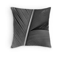 Lyrebird tail feather Throw Pillow