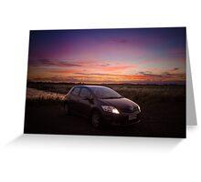2010 Toyota Corolla Greeting Card