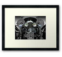 Blower Framed Print
