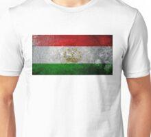 Tajikistan Grunge Unisex T-Shirt