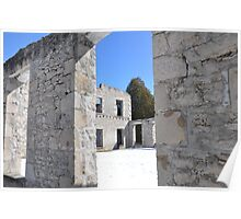 Ruins Wool Mill Poster
