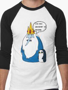 iceking Men's Baseball ¾ T-Shirt