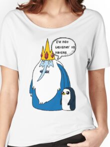 iceking Women's Relaxed Fit T-Shirt
