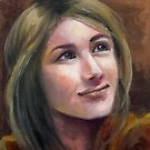 Portrait of Chelsea by Lubna