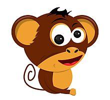 Cartoon Monkey Photographic Print