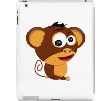 Cartoon Monkey iPad Case/Skin