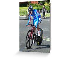 UCI WORLD CYCLING CHAMPIONSHIPS 2010 Greeting Card