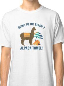 Alpaca Towel Classic T-Shirt