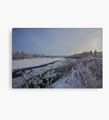 B e l v e d e r e  -   White  Dunajec River (POLAND).  by Brown Sugar . Merry Christmas Greetings from Poland   thx ,  Views (421) favorited by (5) Thx! featured in Lakes and Inland Waterways. Canvas Print