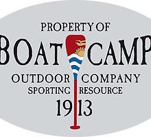 Canoe Crew Canoeing Sports Emblem by alexrow