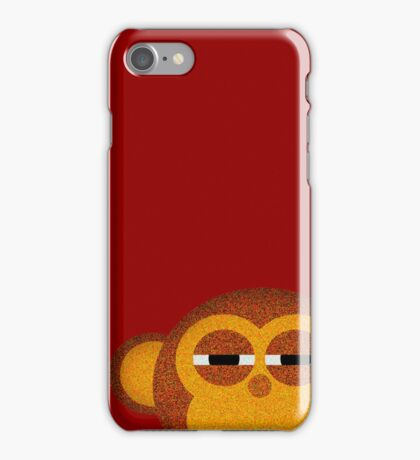 Pocket monkey is highly suspicious iPhone Case/Skin