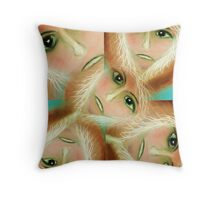 Voice within Throw Pillow