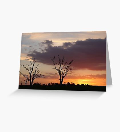 Clouds at Dusk, Cape Clear Greeting Card