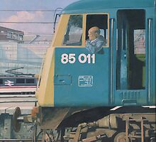 class 85 electric locomotive at euston station by martyee