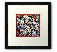 Secret Thoughts Framed Print