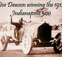 MOTORSPORT, Joe Dawson, winning the 1912, Indianapolis 500 by TOM HILL - Designer