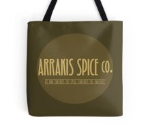 Dune - Arrakis Spice co. (version 2) Tote Bag