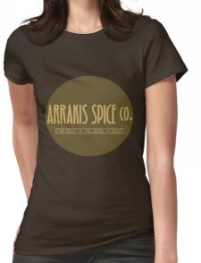 Dune - Arrakis Spice co. (version 2) Womens Fitted T-Shirt