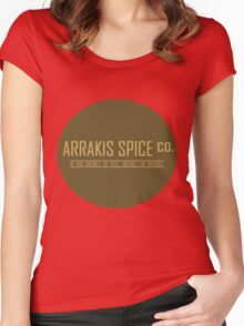 Dune Arrakis Spice Co. Women's Fitted Scoop T-Shirt