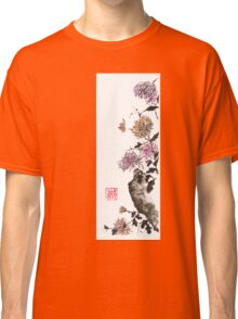 Touch of color sumi-e painting Classic T-Shirt