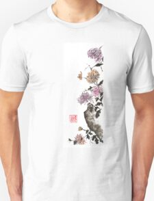 Touch of color sumi-e painting T-Shirt