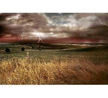 Storm Rising - Kanmantoo, The Adelaide Hills, South Australia Photographic Print