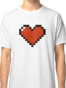 8 Bit Heart Classic T-Shirt