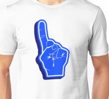 blue Fanfinger Unisex T-Shirt
