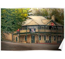 The Hagen Arms - Echunga, The Adelaide Hills, South Australia Poster