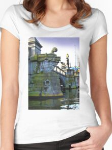 Canals Of Amsterdam IV Women's Fitted Scoop T-Shirt